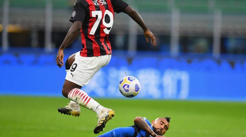 Milán se quedó con el derby Italiano en la Serie A